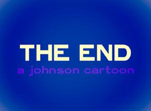 Johnson Cartoon Studios, 1952, faded closing title